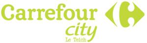 logo carrefour city le teich