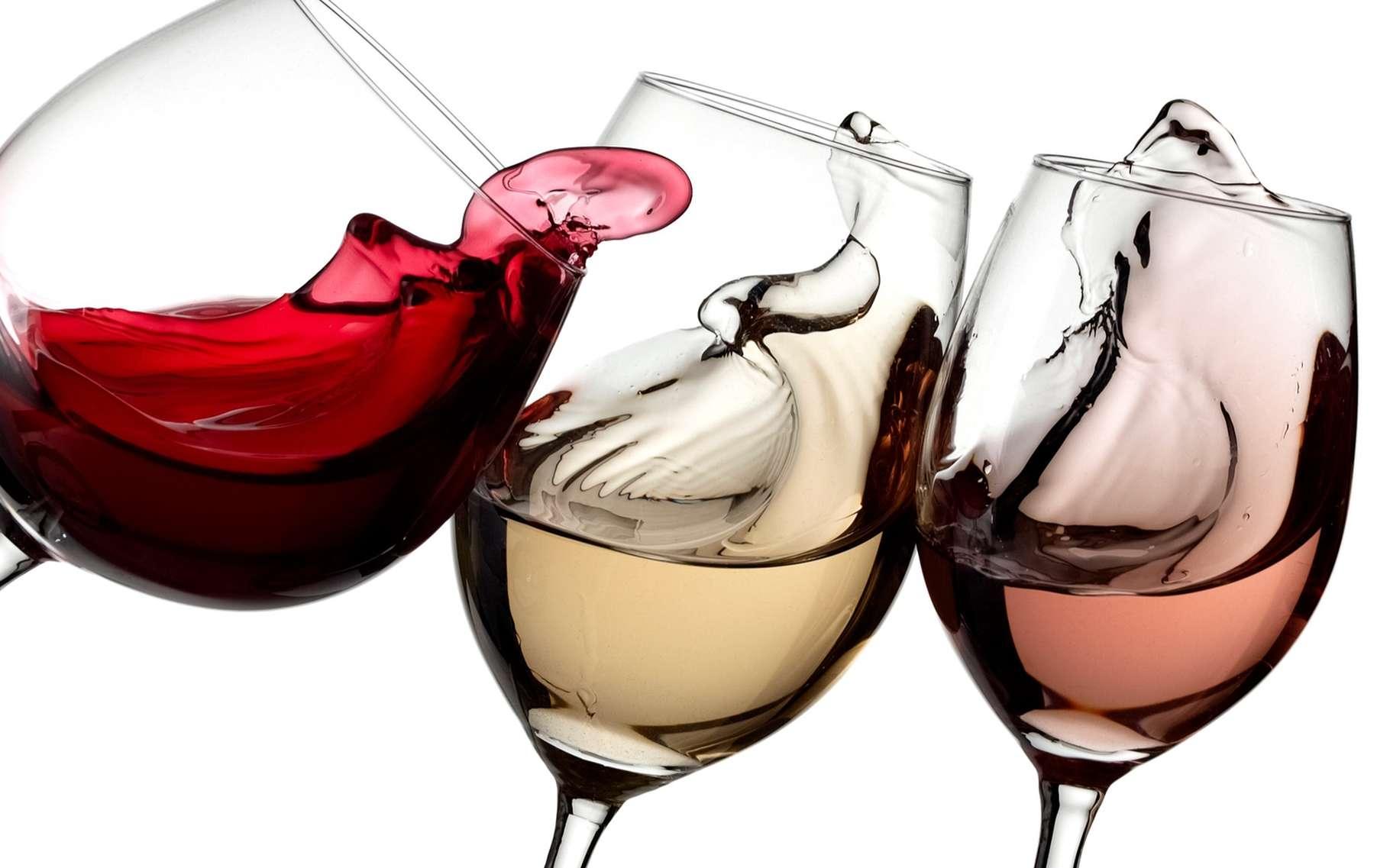 vin rouge et blanc rosé ste foy